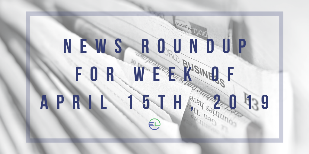 News Roundup for Week of April 15th