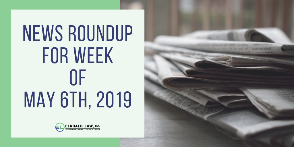 News Roundup for Week of May 6th